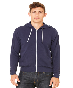 Canvas Unisex 6.5 Ounce Poly-Cotton Fleece Full-Zip Hoodie