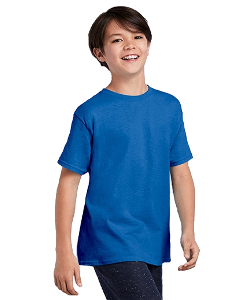 Gildan® Youth 5.3 Ounce Heavy Cotton™ T-Shirt for Tie Dyers