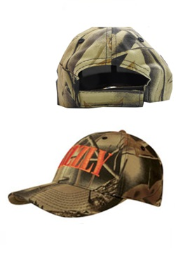 Headwear Professionals Brushed Cotton Leaf-Print Camouflage Cap