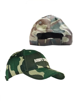 Headwear Professionals Cotton Twill Camo Cap