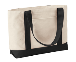 Liberty Bags Classic Leeward 11 Ounce Canvas Boater Tote