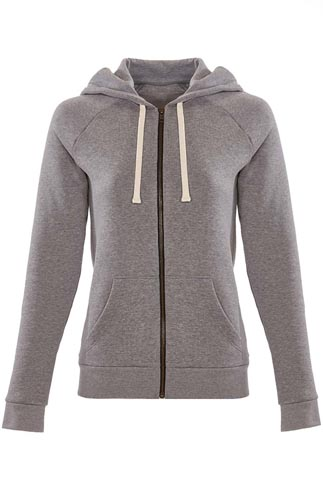 Next Level 7.4 Ounce Ladies' PCH Fleece Raglan Zip Hoody