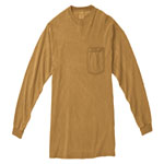 Comfort Colors Adult Long Sleeve 6.1 Ounce Ringspun Pocket T-Shirt                                                            *S