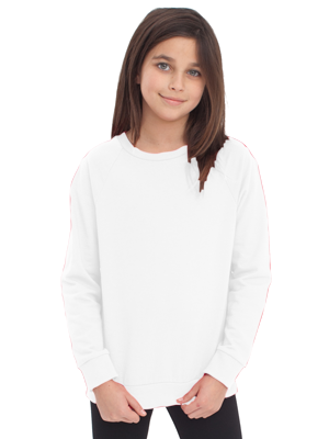 American Apparel Youth California Fleece L/S Raglan