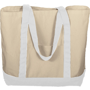 "Augusta 11 Ounce Cotton Canvas ""Boater Tote"""