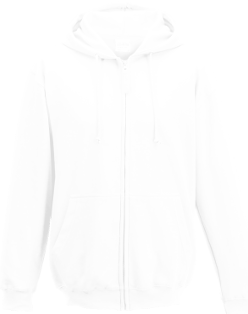AWDis Adult Full Zip Hooded Pullover