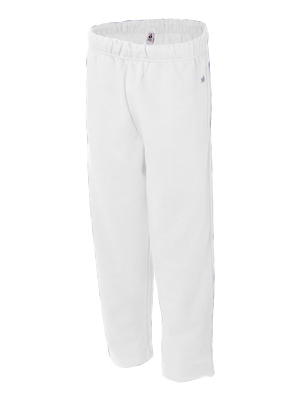 Badger Adult 9.5 ounce Open Bottom Pant.