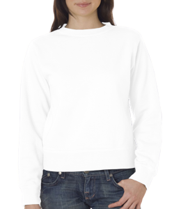 Comfort Colors Ladies 80/20% Cotton/Poly 10.0 Ounce Crew Sweatshirt.  *SHIPS in 2 to 4 BUSINESS DAYS