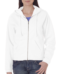 Comfort Colors Ladies 80/20% Cotton/Poly 10.0 Ounce Full-Zip Sweatshirt.  *SHIPS in 2 to 4 BUSINESS DAYS