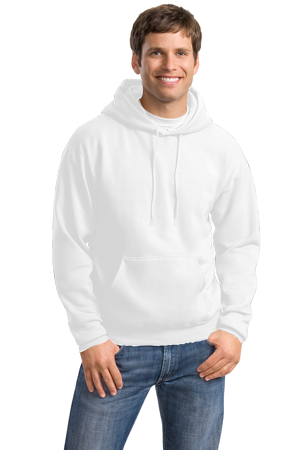 Hanes Adult ComfortBlend® EcoSmart® 7.8 Ounce Hooded Pullover