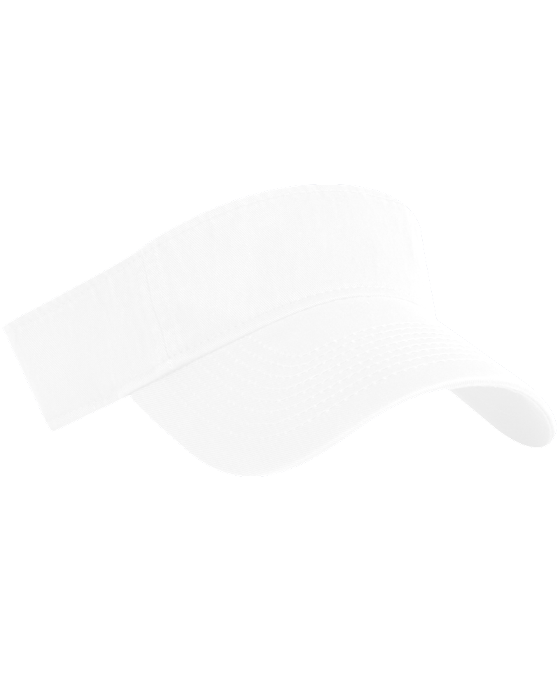 KC Caps Washed Cotton Twill Visor