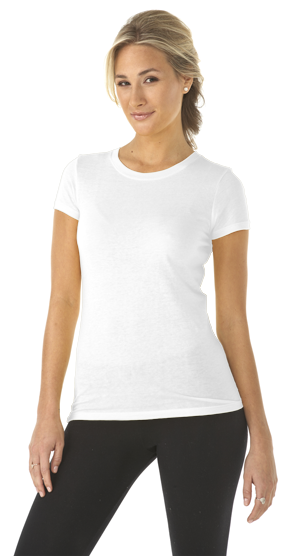 Next Level Ladies 4.0 Ounce Perfect Crewneck T-Shirt