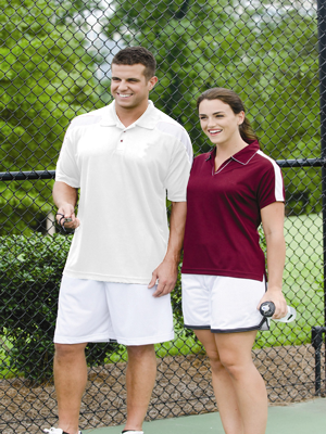 Proline Men's 5.0 ounce 100% Athletic High-Performance Polo