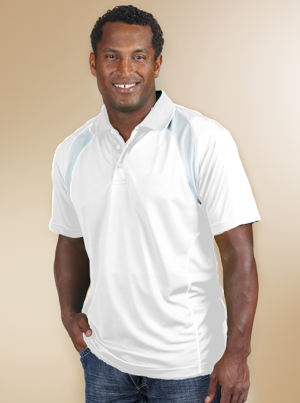 Reebok Men's 4.3 Ounce Playdry Athletic Polo