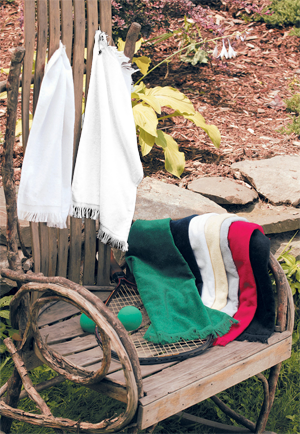 Anvil Towels Plus® by Anvil Fringed Fingertip Towel