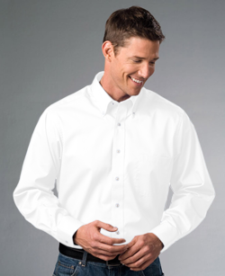 Van Heusen Men's 3.4 Ounce Long sleeve Twill Dress Shirt